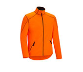 Fleece-jack super zacht oranje
