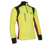 X-treme Polar functioneel shirt in geel/rood