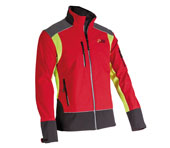 X-treme Shell - Softshell jack in rood/geel