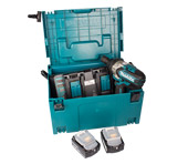 Makita accu-slagboorsmachine DTW1002 set